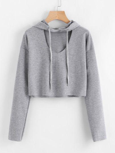 Sweatshirts - White, Grey, Plain, Black & Crew Neck Sweatshirts | Romwe.com