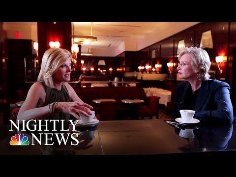 "NBC News: Jane Lynch On Having The ""Most Amazing Killer Job"" | NBC Nightly News"
