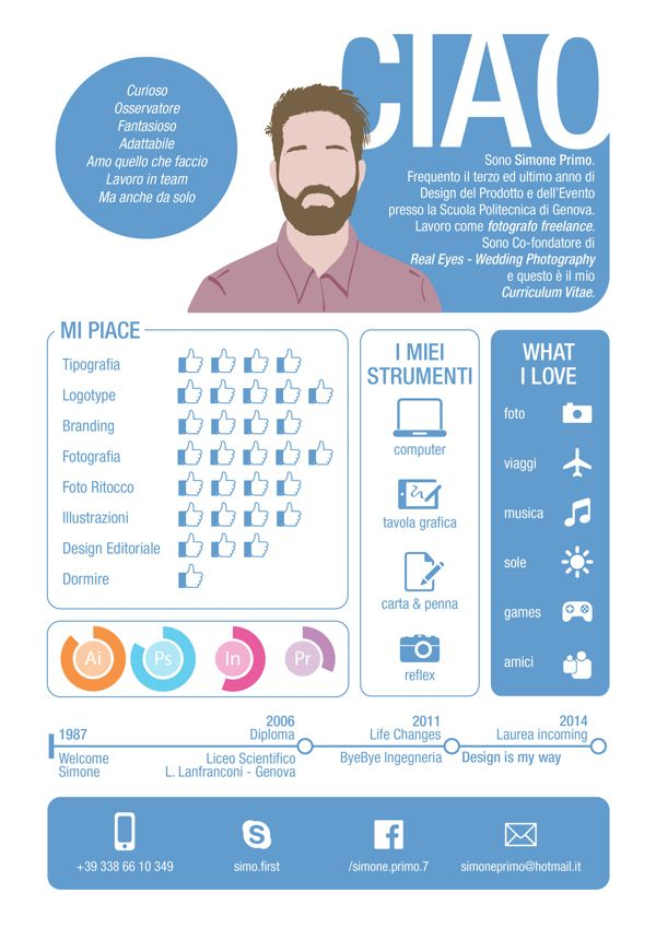 126 best infographic resume images on pinterest infographic