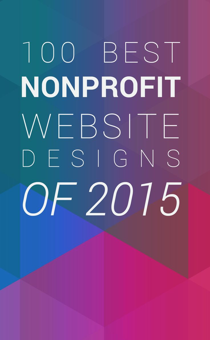 What makes a good nonprofit website? That's a question with more than 100 answers. But this list is definitely a good start. Check out the 100 Best Nonprofit Website Designs of 2015.