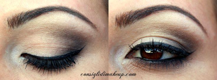 Consigli di Makeup: MOTD: Labbra corallo e Occhi nude per tutti i gior...