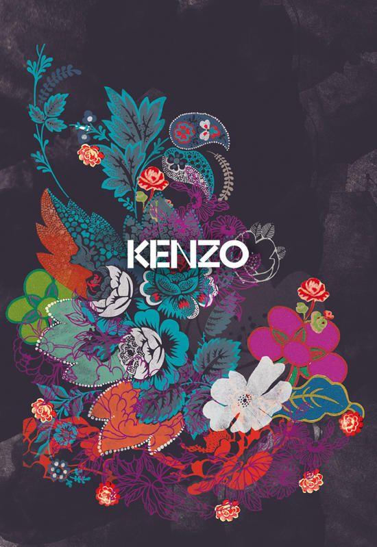 Catalogue Kenzo accessoires, Elle Magazine, Déc. 2010 Illustrations