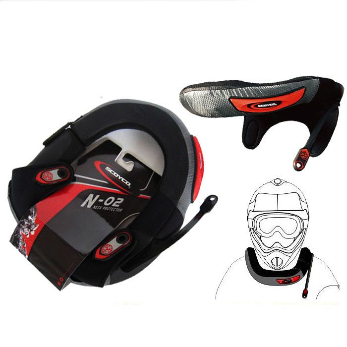 ATV Motorcycle Cycling Neck Protector Motocross Neck Brace MX Protective Gears #SCOYCO