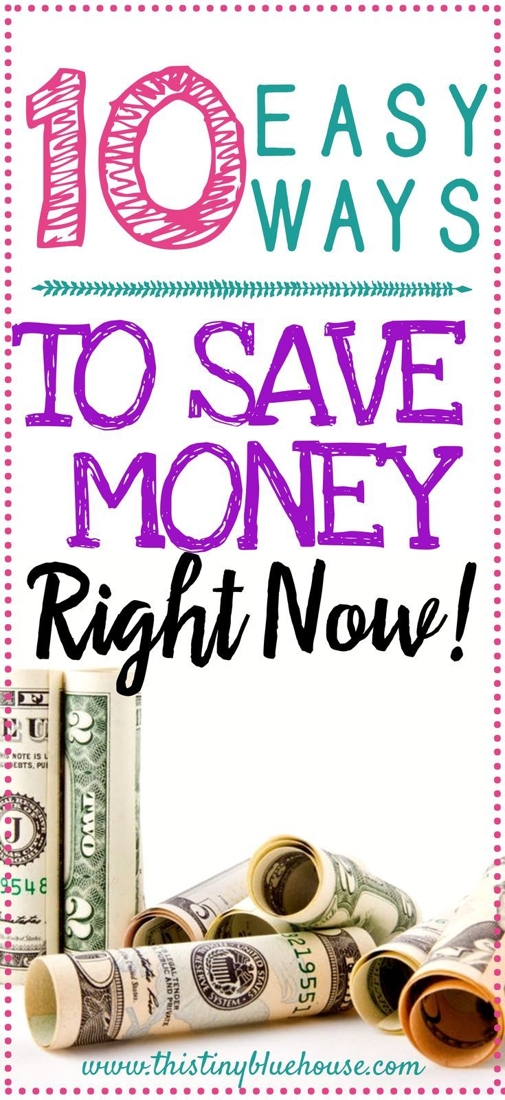 10 Painless Things you can do right now to save money