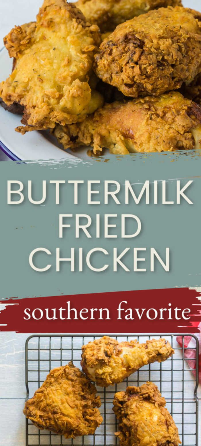 Buttermilk Deep Fried Chicken Recipe In 2020 Fried Chicken Making Fried Chicken Chicken Recipes