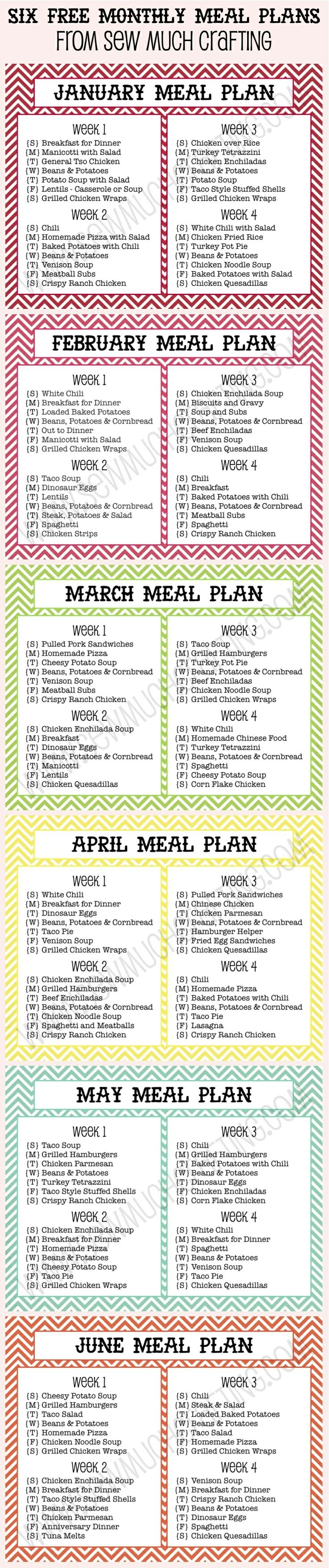 11 best meal planning shopping images on pinterest menu planners