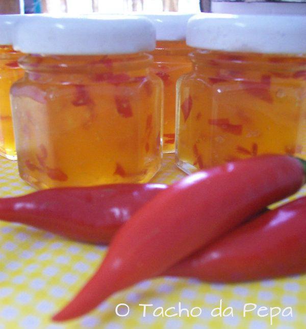 O tacho da Pepa: Geléia de Pimenta, Ferradurinhas- Presentinhos Comestíveis