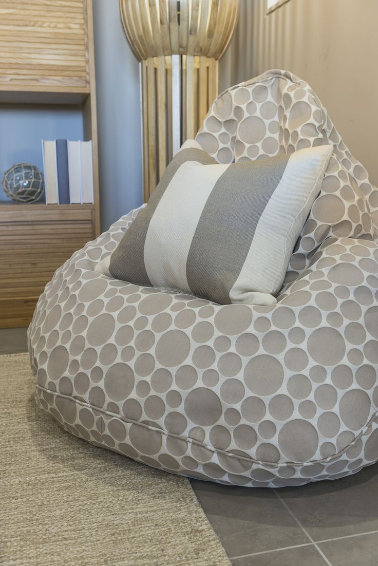 Add some excitment to your room with this #Mediterranean inspired #bean #bag #chair from Ausbuild's Denham display home.