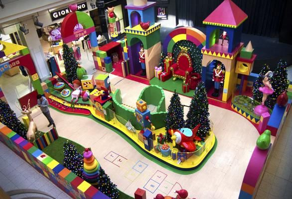 Project Gallery | Chas Clarkson  Santa's Playworks Highpoint  Shopping Centre VIC