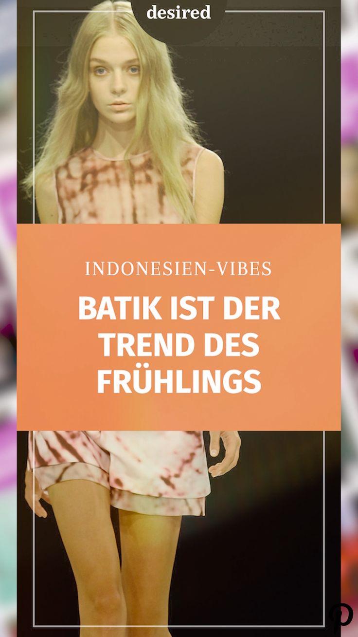 #batik #trend2019 #fashion #frühling #spring Indonesien-Vibes: Batik ist der Muster-Trend 2019 [Video]
