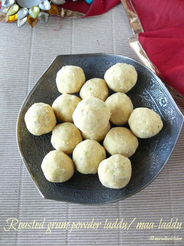 The roasted gram powder #laddu/maa laddu is one of the famous sweet's of Tamilnad