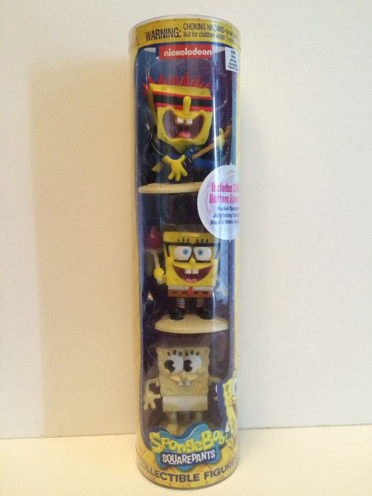 (TAS030019) - 2014 Just Play SpongBob SquarePants Collectible Figures
