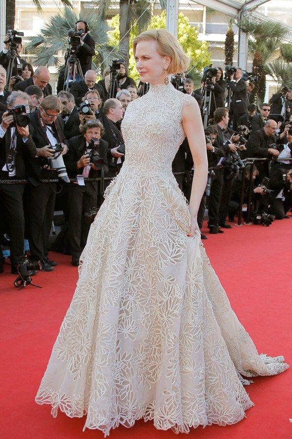 """Nicole Kidman utilizó el Valentino Couture Primavera/Verano 2013 que dejó Anne Hathaway en los Oscar´s por el Prada en la premiere de """"Nebraska"""""""