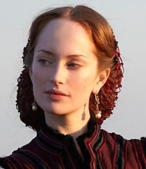 Lotte Verbeek as Giulia Farnese in 'The Borgias'.