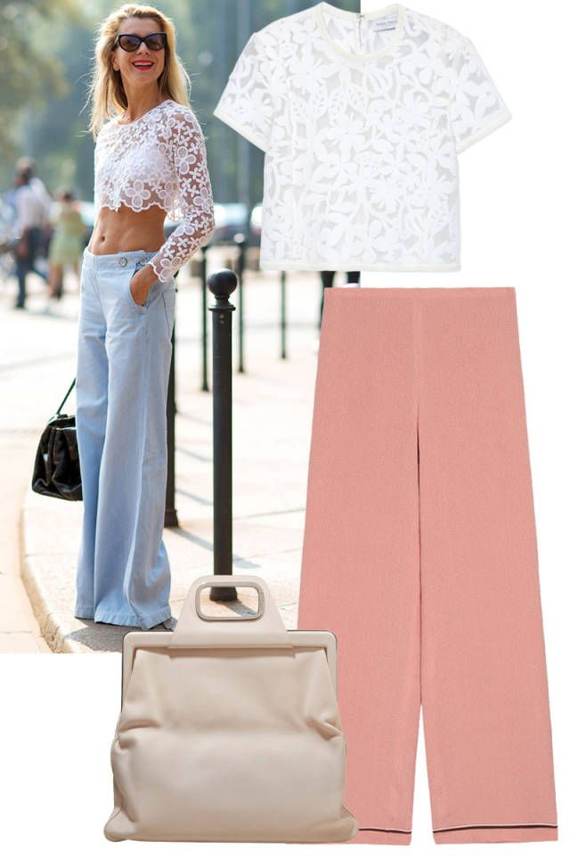 Shop 10 chic styles for the crop top trend. Click here for more style inspiration.