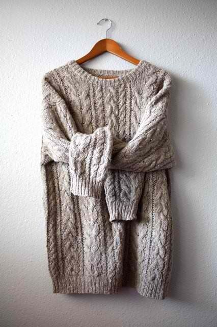 This would be cute to wear on its own during the fall then with a vest during the winter!
