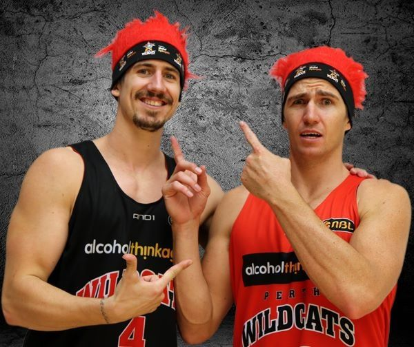 Creative idea here by Perth Wildcats in the NBL Australia Basketball comp to giveaway free hats on each fans seat at home games.