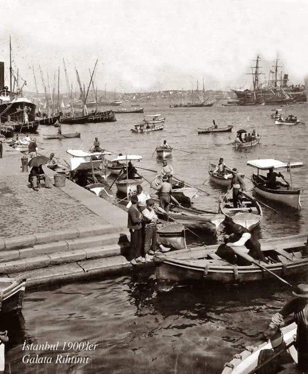 Galata Rıhtımı (1900'ler) #istanbul #istanlook #birzamanlar #nostalji