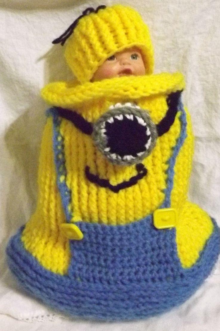 16 besten Minions Bilder auf Pinterest | Babyhäkelei, Minion-outfit ...