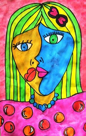 "From exhibit ""Grade 5 2013 - Picasso Portraits"" by Kamohelo1"
