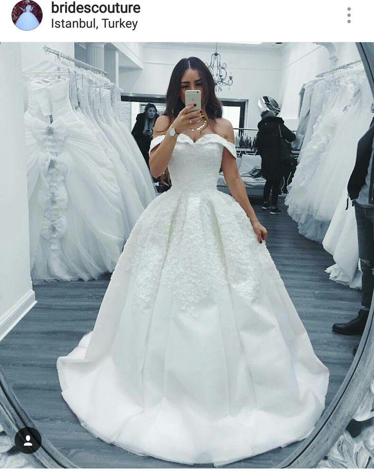 44 best Brudekjole (Wedding Dresses) images on Pinterest   Wedding ...
