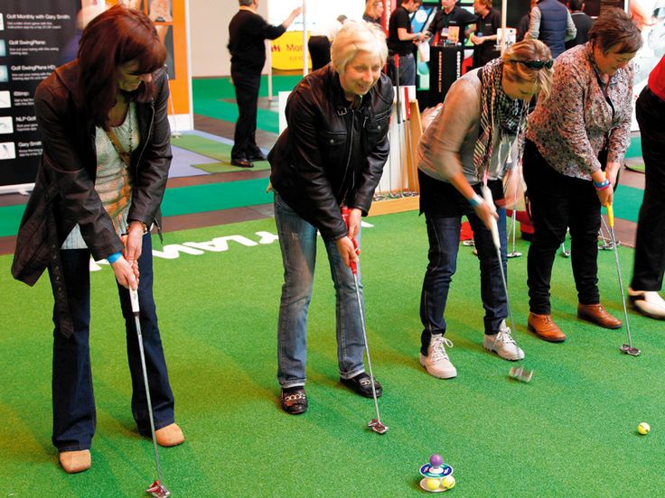 Ladies can register for free tickets to the London Golf Show until the 31st October