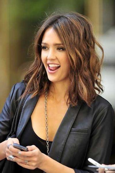 Meilleure couleur de cheveux pour les yeux bruns – 43 idées glamour à aimer   – Jessica Alba pics