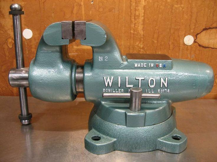 Nice 4 Quot Jaw Width Vise Wilton 400s Restore The Garage