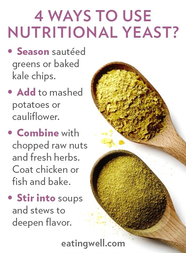 Nutritional Yeast Has Long Been Used By Vegans As A Naturally Dairy Free Cheese Substitu Nutritional Yeast Benefits Nutritional Yeast Nutritional Yeast Recipes