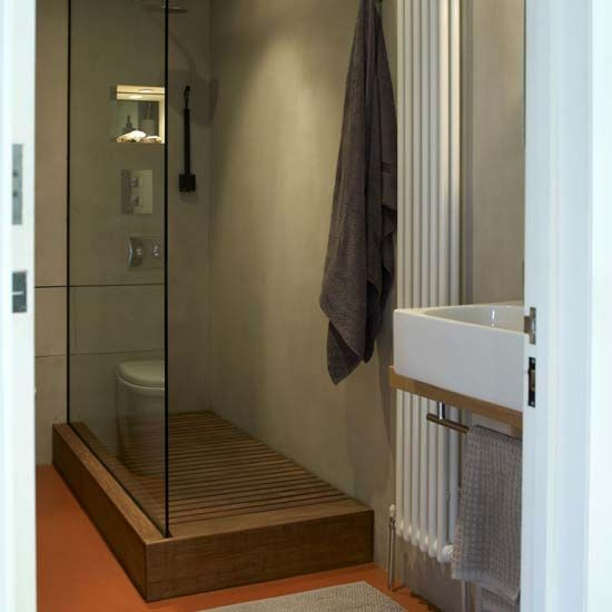 This shot above has a teak wood floor with a hidden drain which is pretty  sweet  It gives a little more of an outdoor feel  The walls  however  I  thought. 17 Best ideas about Teak Shower Mat on Pinterest   Bath mats