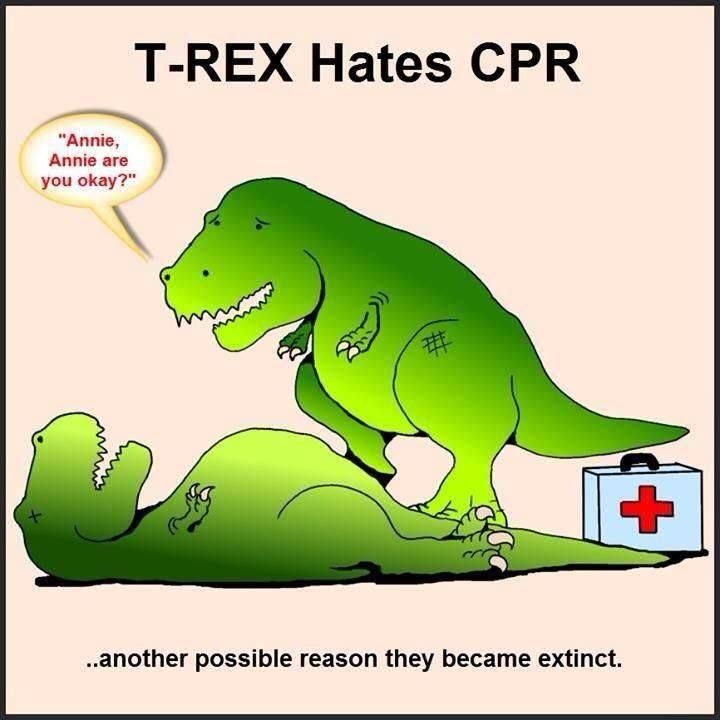 Another reason T-rex's may have become extinct. It's science.
