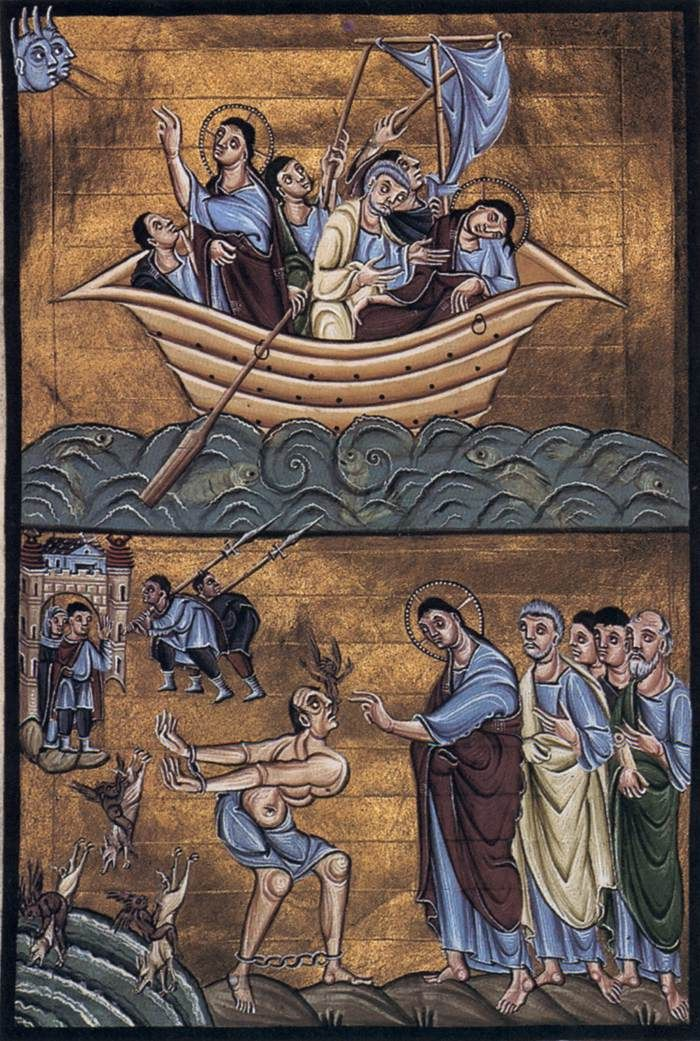 км_Евангелие Книга Отто III 1