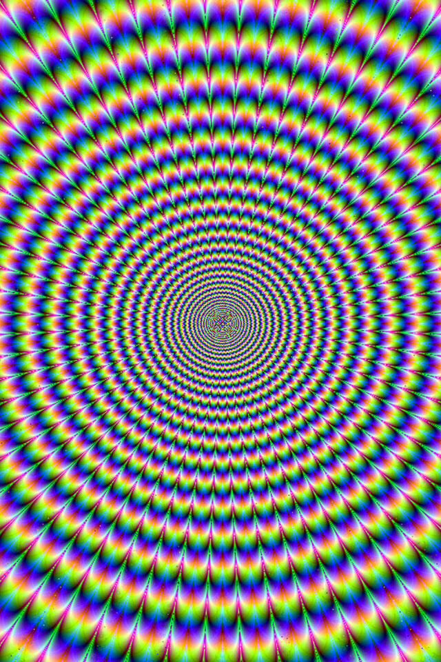 illusion optical illusions trippy eye cool wallpapers deep op iphone eyes psychedelic background hd tricks rainbow dizzy dirk lemon sure
