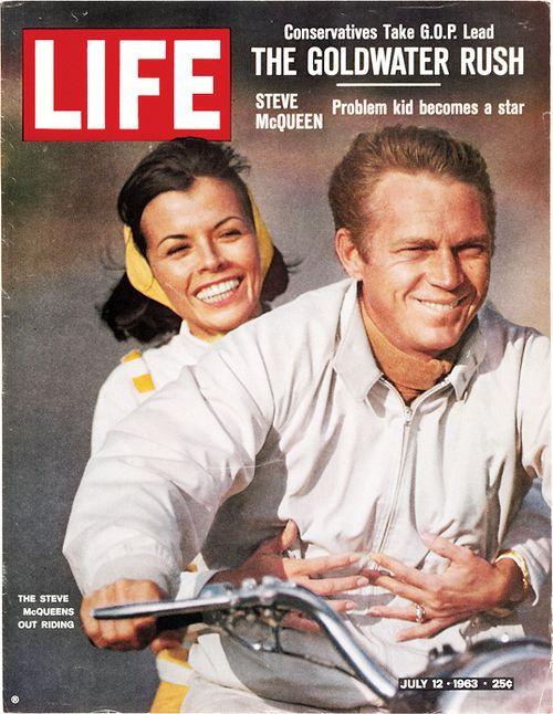 McQ: Life Covers, Magazine Covers, Mc Queen, Years Ago, Movie Stars, Steve Mcqueen, Magazines, Life Magazine, 50 Years