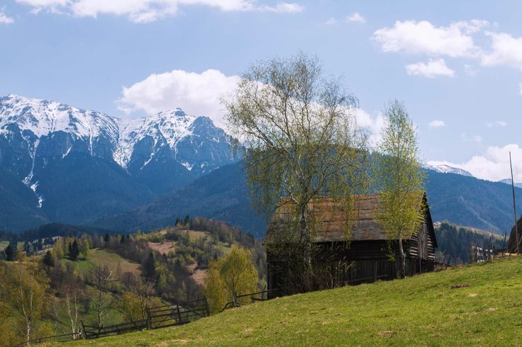 View over Caraiman Mountains from the hills | Romania | Bran | travel | mountains | hike