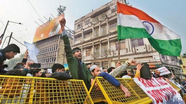 Capital Flare Up Anti Caa Protests Grip Delhi Fun Protest Flares