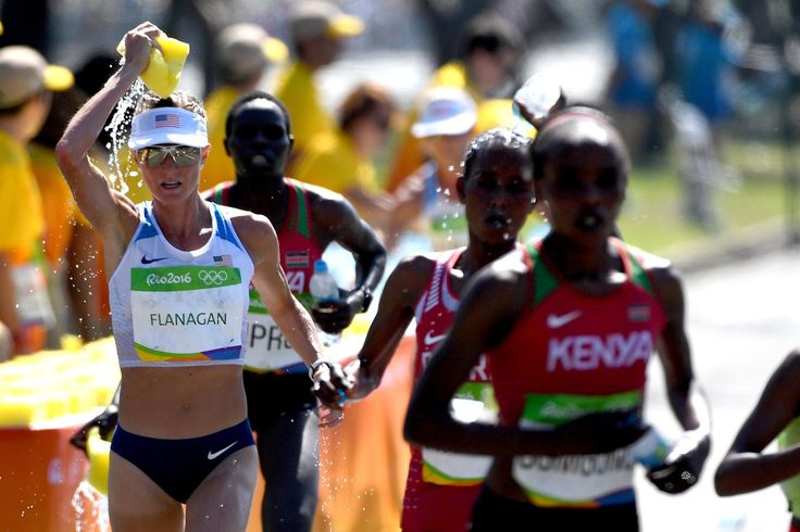 At 35km, it's 7 women still in contention - Marathon Rio 2016 Olympics