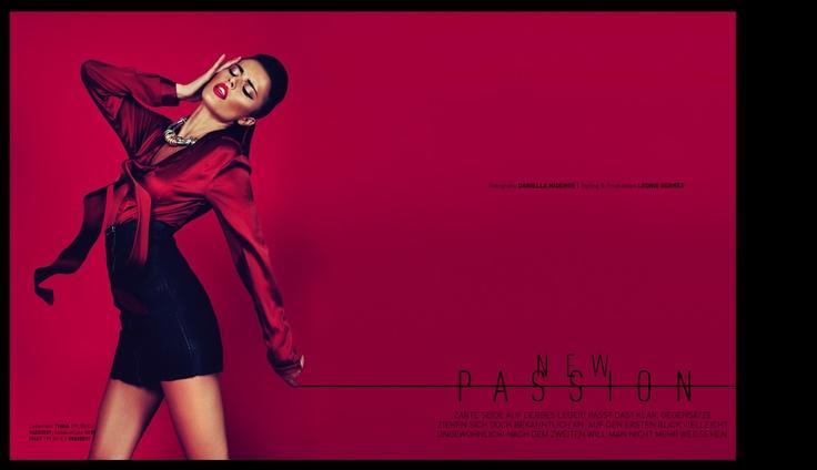 Conleys Magazin || September 2012 || Cover / New Passion || Photographer: Daniella Midenge || Production & Styling: Leonie Gerner (Conleys) || Make-up & Hair: Miriam Jacks (Ace Fury Collective) || ACE FURY COLLECTIVE || http://www.ace-collective.com