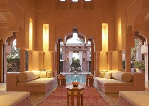 22 Marokkanische Wohnzimmer Deko Ideen