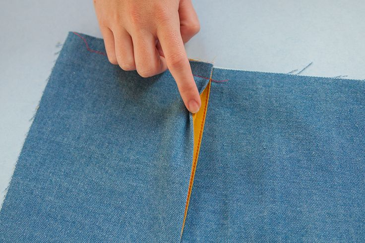 Design your own in-seam pockets. Learn 3 different pocket variations that can be added to any side seam. Photo tutorial ...