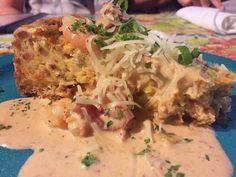 Jacques-Imo Cafe's Alligator Sausage & Shrimp Cheesecake | Recipe Secrets Forum - Copycat Restaurant Recipes
