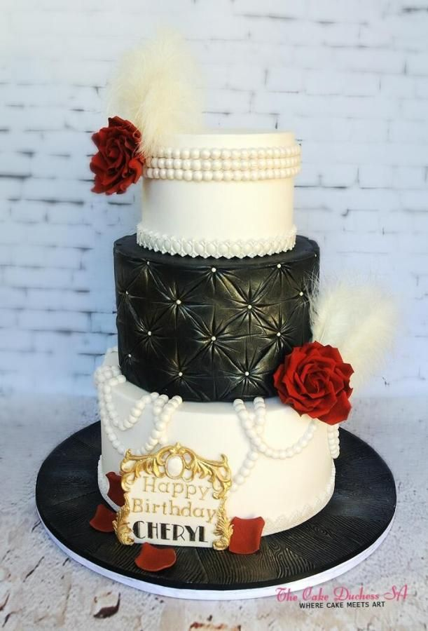 A touch of Glamour by Sumaiya Omar - The Cake Duchess SA