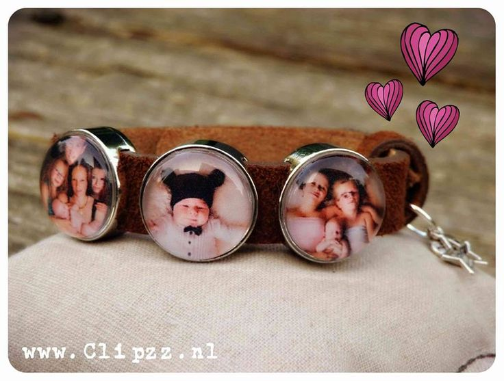 # HIP Foto armband #   www.clipzz.nl