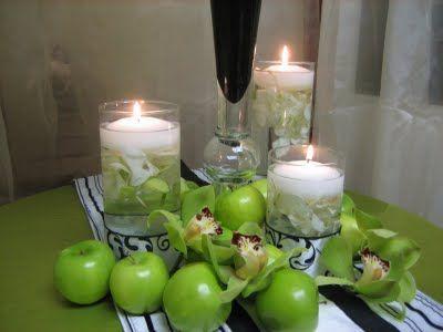 17 best ideas about Apple Wedding Centerpieces on Pinterest | Snow ...