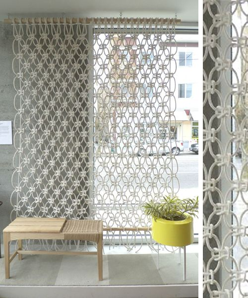 M s de 1000 ideas sobre divisor de cortina en pinterest - Cortinas separadoras de ambientes ...