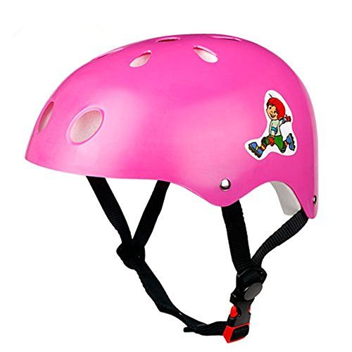 Kids' Bike Helmets - Multisports Kids Safty Helmet Child Balance Car Protective Gear Cycling Skating Roller Skating Skateboard Bike Bicycle Helmets for Toddlers * You can find more details by visiting the image link.