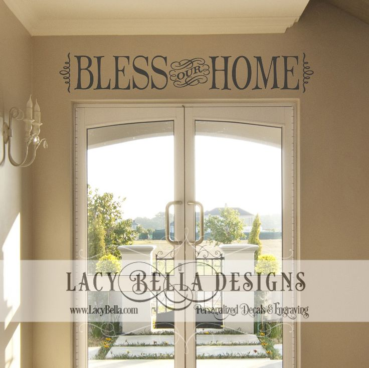 17 Best images about Entryway Decal Designs on Pinterest
