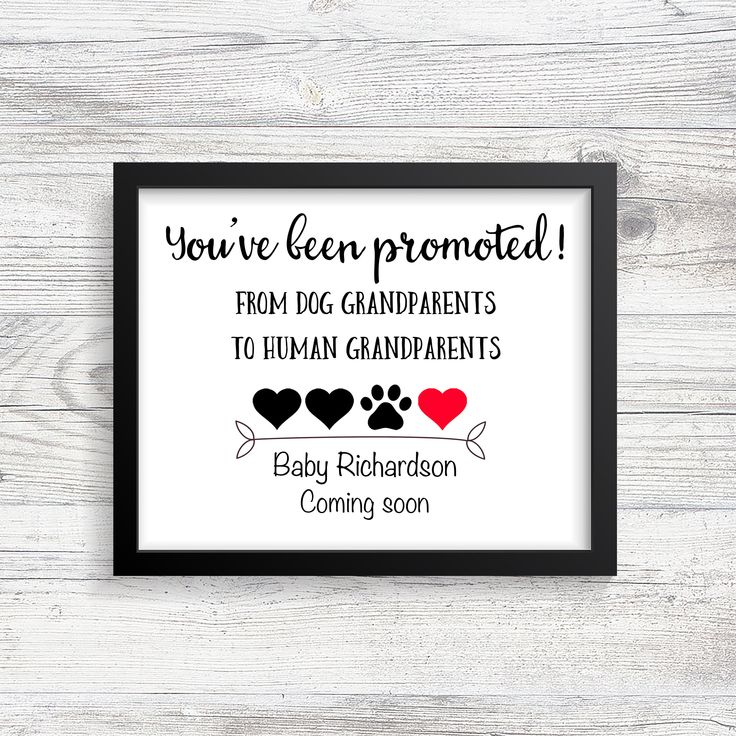 Ich freue mich sehr über den neuesten Eintrag in meinem #etsy-Shop: Grandparent Pregnancy ann … – Baby