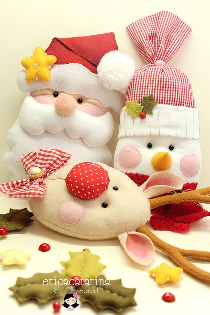 Ei Menina!: Por um Natal mais feliz e handmade!