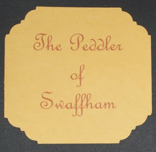 April's Homemaking: 52 Weeks of Fairy Tales Week #19 The Peddler of Swaffham